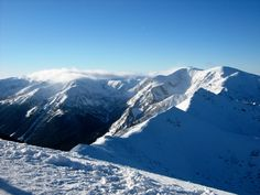 Tatra Mountains, Poland. Wonderful sunny day in the winter.