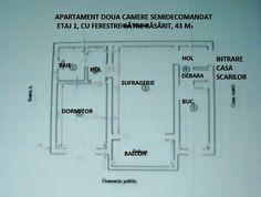 2 camere Floor Plans, Diagram, Cots, Floor Plan Drawing, House Floor Plans
