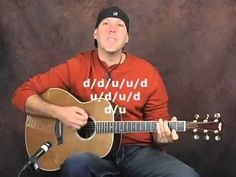I love the way he teaches-more musical rather than just one technique at a time.  Easy songs Guitar Lesson Acoustic Guitar Lesson - http://music.airgin.org/blues-music-videos/easy-songs-guitar-lesson-acoustic-guitar-lesson/