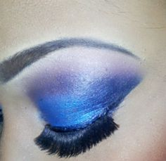 Electric blue & purple
