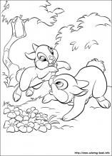 Disney Bunnies coloring pages on Coloring-Book.info