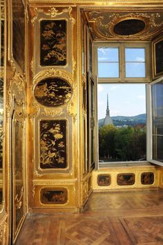 The Royal Palace, Turin – The Chinese Room Palazzo Reale, Torino. province of Turin , Piemonte region italy