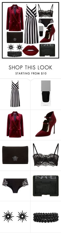 """Untitled #107"" by asena-cakmak on Polyvore featuring Marc Jacobs, Givenchy, Topshop, Christian Dior, Versace, NARS Cosmetics, Christina Debs and Bling Jewelry"