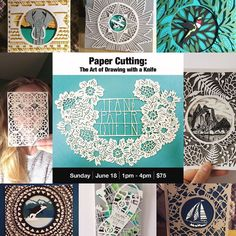 This Sunday I will be giving a 3hour workshop @visa_art_school onyup you guessed it Paper cutting! There are still spots available if you find yourself with a day off :) #workshop #artwork #artists #paperart #papercutting #paper #trysomethingnew #learning #weekend #sunday #sundayfunday #drawings #draw #artschool #yyj #yyjarts #victoria #bc