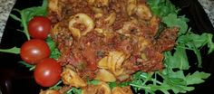 Tortellini a la Sandra uit de slowcooker Tortellini, Slowcooker, Mozzarella, Crockpot, Food And Drink, Crock Pot