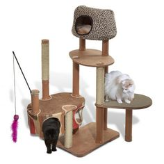 Maidenhead Cat Tree - my Henry cat would love this giant plaything!