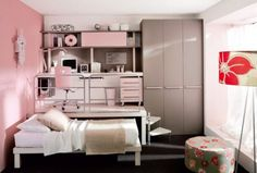 Loft Teenage Bedroom  Furniture