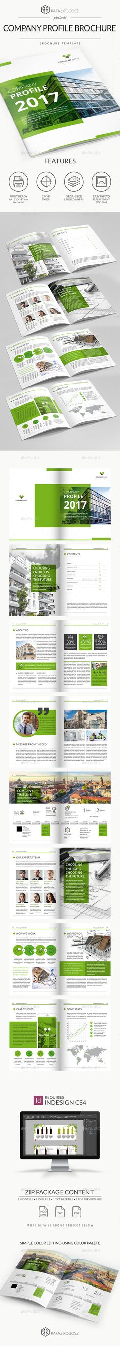 Company Profile brochure 2017 vol2 - #Corporate #Brochures Download here: https://graphicriver.net/item/company-profile-brochure-2017-vol2/19386550?ref=alena994