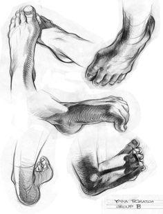 Feet Art Tutorials