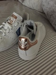 Adidas stan Smith white rosé gold