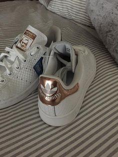 Adidas stan Smith white rosé gold