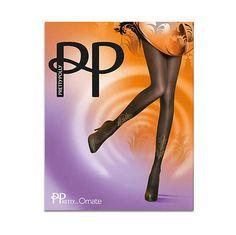 Pretty Polly PP Pretty Ornate Tights Gold Black