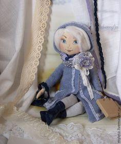 Купить Кукла авторская коллекционная Ксюша - коллекционная кукла, авторская кукла, текстильная кукла