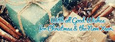 With all Good Wishes for Christmas New Year Facebook Cover coverlayout.com
