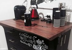 Coffee lover Tom Neivandt took inspiration from daily coffee runs to build his own barista station. Handyman Magazine, Coffee Carts, Barista, Toms, Projects, Inspiration, Coffee Stands, Log Projects, Biblical Inspiration