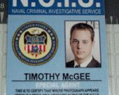 NCIS Timothy McGee ID prop replica ID badge by UncleJacks