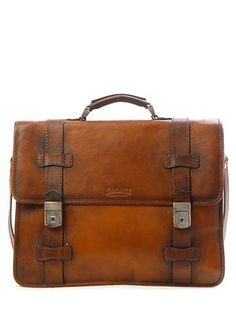The satchel of Abe's mentioned on pg 1 of BFWB.  Ruota Leather Bag
