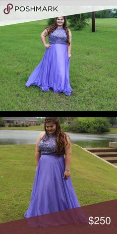 Angela and Alison Size 18 Prom Dress Beautiful Lilac Prom Dress in mint condition & only worn once! Angela and Alison Dresses Prom