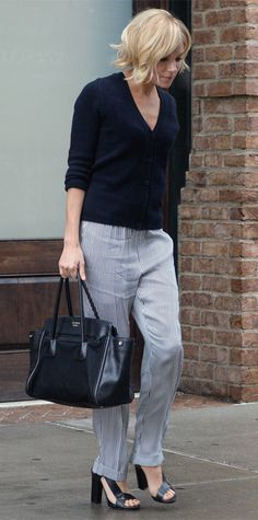 How to Wear a Cardigan Like Kendall Jenner, Amal Clooney, and More - Wear It Solo from InStyle.com