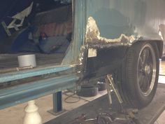 replacement short sill welded in