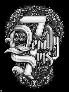7 Deadly Sins by ilovedust