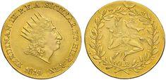 NumisBids: Nomisma Spa Auction 50, Lot 183 : PALERMO Ferdinando III P.F.A. (1814-1816) Doppia oncia 1814 – Spahr...