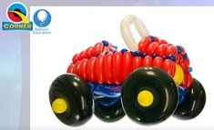 Join Keith & Dom in this Balloon Car tutorial as they share all the skills, techniques and materials required to make this awesome and fun design. Balloon Cars, Balloons, Ballon Animals, Birthday Decorations, Boy Birthday, Braided Hairstyles, Vehicle, Cool Designs, Movies