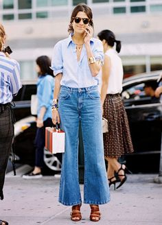 Tip of the Day  Wide-Leg Jeans for Every Body Type 715e333b60ff3