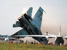 The Sknyliv air show disaster occurred July 27, 2002, when a Ukrainian Air Force Sukhoi Su-27 of the Ukrainian Falcons crashed during an aerobatics presentation at Sknyliv airfield near Lviv, Ukraine. The accident killed 77 people and injured 543. To this date (Dec. 2015), it is deadliest air show disaster in world history.