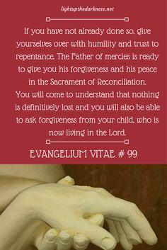 Evangelium Vitae #99