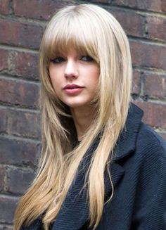 Taylor Swift Hairstyles 2015 Gorgeous Celebrity Hairstyles | I want this style but hair color in dark brown