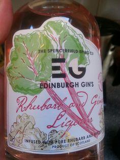 Rhubarb and Ginger Liqueur - Edinburgh Gin Ginger Liqueur, Edinburgh, Pure Products, Drinks, Bottle, Drinking, Beverages, Flask, Drink