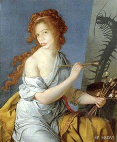 Marie-Noëlle Pécarrère   Festin Nu, D'après l'autoportrait de Marie Guillemine Benoist (1790)