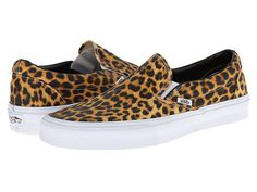 Because more leopard.  Vans Classic Slip-On™ (Digi Leopard) Black/True White - Zappos.com Free Shipping BOTH Ways
