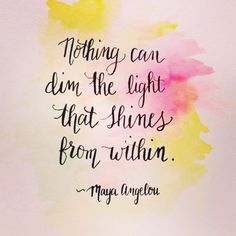 In what ways have you been dimming your light? You were meant to shine the light that YOU are! You are a beautiful bright lightshine bright today