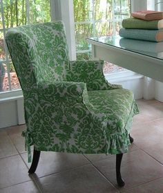 Slipcovered Desk Chair More
