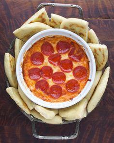 PIZZA DIP. Dreams do come true.