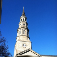 Putting the Stake in high-stakes gambling. A Charleston story. st phillips church steeple, st phillips church charleston sc, churches in charleston sc, church street charleston sc