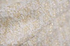 Tessuto di tweed tessuto allentato beige 58 550g bella