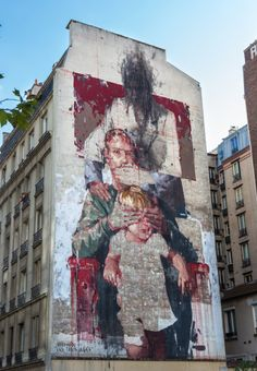 Borondo (2014) - Rue du Chevaleret, Paris 13 (France)
