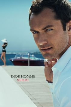 Jude Law by Peter Lindbergh for Dior Homme Sport 2012