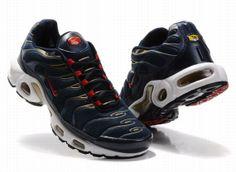 new style 91fcb 9a430 Nike Air Max TN heren blauw gouden wit zwart rood-142