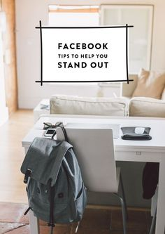 We're loving how they framed their text in this SM graphic. Try making something like this on Canva today! Facebook Tips to Help You Stand Out