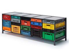 【正規情報】レンズベルト(LENSVELT)のKRATTENKAST 5 KOLOMS(クラッテンキャスト 5 コロム)です。Mark van der Gronden(マーク・ファン・デル・グロンデン)がデザイン。価格、サイズ、評判は国内最大級の家具・インテリアポータル TABROOM(タブルーム)でチェックください。
