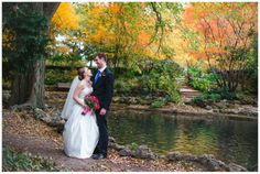 Cindy Lee Photography st louis fall wedding bride and groom pink flowers