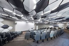 Contemporary small lecture hall / auditorium design concept.
