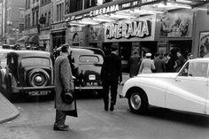The Cinerama Cinema • Old Compton Street • 1955
