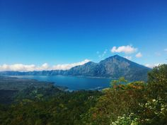 Kintamani Lake in Bali, Indonesia