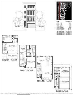 Townhouse Plan E2295 A1.1