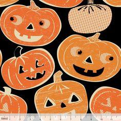 Spooktacular Eve 101.107.01.1 Pumpkintopia by Maude Asbury for Blend